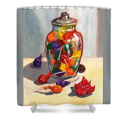 Lollipops Shower Curtain