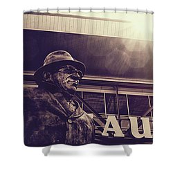 Lombardi - Shadow Of Greatness Shower Curtain