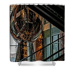 Lombardi Trophy Shower Curtain