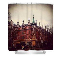 London Street Shower Curtain