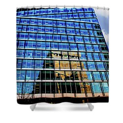 London Bankside Architecture 2 Shower Curtain