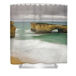 London Bridge 2 Shower Curtain