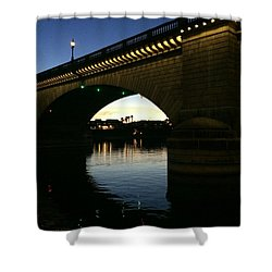 London Bridge Shower Curtain