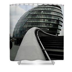 London City Hall Shower Curtain