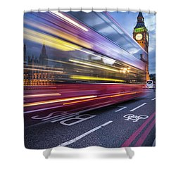 London Classic Shower Curtain