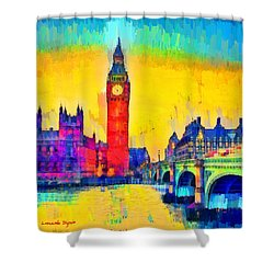 London Downtown - Pa Shower Curtain