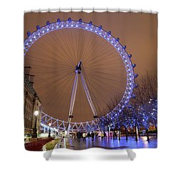 Shower Curtain featuring the photograph Big Wheel by David Chandler