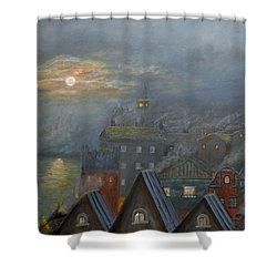 London Fog Shower Curtain