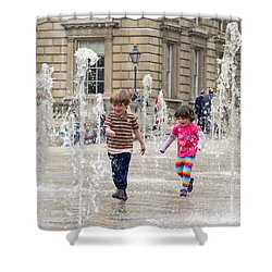 London Fun  Shower Curtain