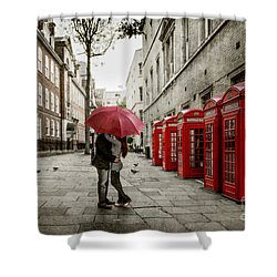 London Love Shower Curtain