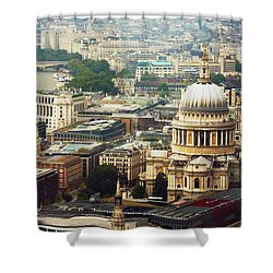 London Rooftops Shower Curtain