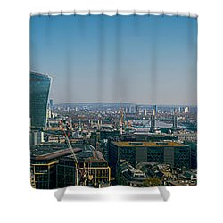 Shower Curtain featuring the photograph London Skyline by Stewart Marsden