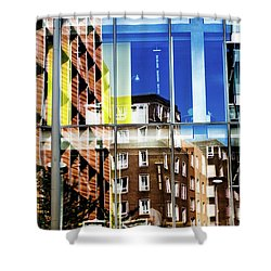 London Southwark Architecture 2 Shower Curtain
