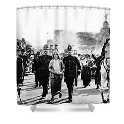 London: Suffragettes, 1914 Shower Curtain by Granger