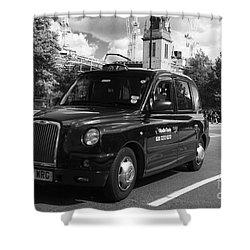London Taxi Shower Curtain