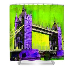London Tower Bridge 4 - Da Shower Curtain