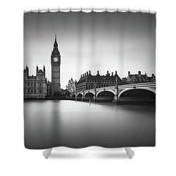 London, Westminster Bridge Shower Curtain by Ivo Kerssemakers