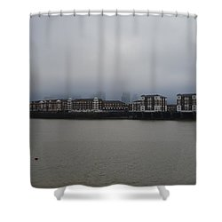 London_2 Shower Curtain