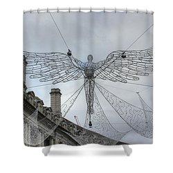 London's Angel Shower Curtain