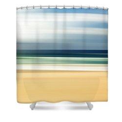 Lone Beach Shower Curtain