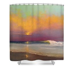 Lone Breaker Shower Curtain