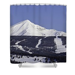 Lone Peak Southern Exposure Shower Curtain