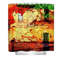 Lone Star Shower Curtain by Don Gradner