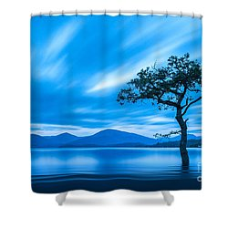 Lone Tree Milarrochy Bay Shower Curtain