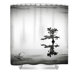 Shower Curtain featuring the photograph Loneliness by Eduard Moldoveanu
