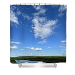 Lonely As A Cloud Shower Curtain