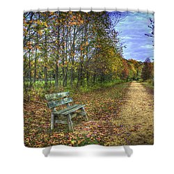 Lonely Chair Shower Curtain