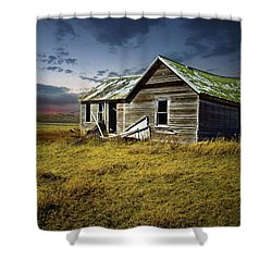 Lonely House Shower Curtain