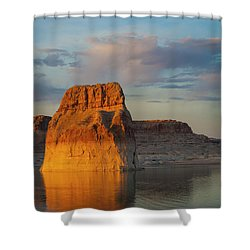 Lonely Rock Shower Curtain