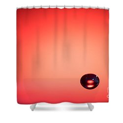 Lonely Water Drop Shower Curtain