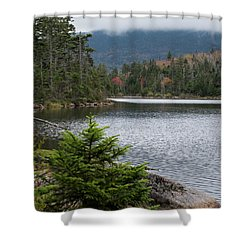 Lonesome Lake Shower Curtain