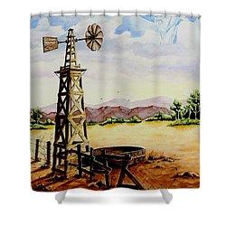 Lonesome Prairie Shower Curtain