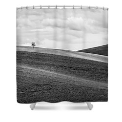 Lonesome Shower Curtain by Ryan Manuel