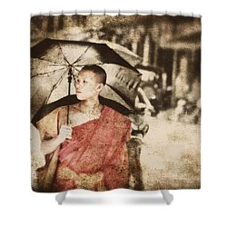 Long Ago In Luang Prabang Shower Curtain