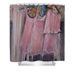 Long Ago Lingerie  Shower Curtain