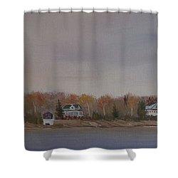 Long Cove Fall Shower Curtain
