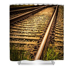 Shower Curtain featuring the photograph Long Gone by Odd Jeppesen