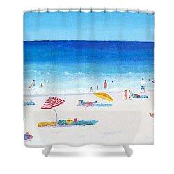 Long Hot Summer Shower Curtain