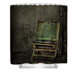 Long Is The Time. Hard Is The Road. Shower Curtain by Evelina Kremsdorf