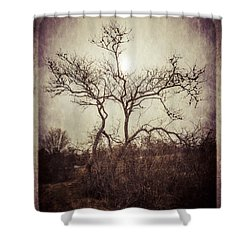 Long Pasture Wildlife Perserve 2 Shower Curtain