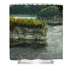 Long Point Clff Shower Curtain