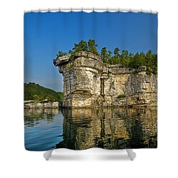Long Point Shower Curtain