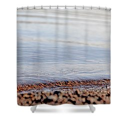 Long Pond Shower Curtain by Donna Petersen