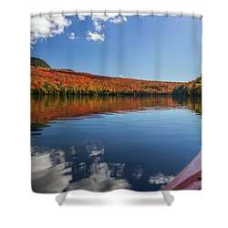 Long Pond From A Kayak Shower Curtain