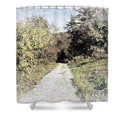 Long Trail Shower Curtain
