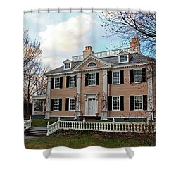 Longfellow House At Sunset Shower Curtain